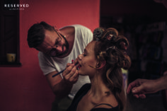 Perfect make up!  Backstage SS14 Frida Gustavsson http://www.reserved.com/pl/pl/campaign/street-fashion-woman