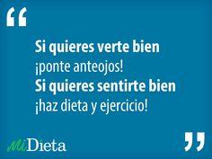 Las mejores frases sobre #dieta.