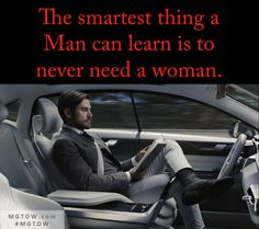SMARTEST THING TO KNOW @mgtownow #MGTOW #MENSHEALTH #MENSFITNESS