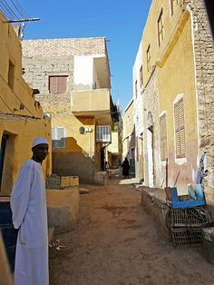 nubian homes in egypt