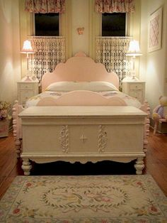 Romantic shabby chic bedroom decor and furniture inspirations (33)