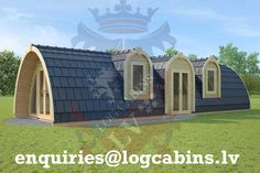 Best Windows, Windows And Doors, Small House Kits, Tiny House, Arched Cabin, Earth Bag Homes, Camping Pod, Quonset Hut