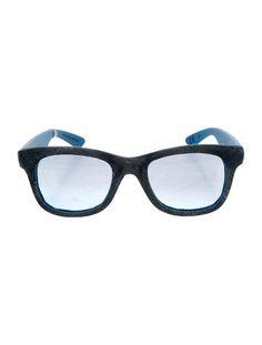 Italia Independent Denim Wayfarer Sunglasses