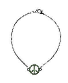 pulseiras delicadas esmeralda semi joias online