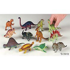 12 Large Dino-Mite Dinosaurs $14.00 per dozen