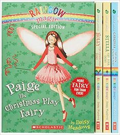 """Praise for Rainbow Magic """"Youngsters have long found fairies fetching, and a successful series from Scholastic suggests these winged beings continue to enchant. Third Grade Books, Rainbow Magic, Star Magic, Jolly Holiday, Jack Frost, Book Lists, Books To Read, Ebooks, Fairies"""