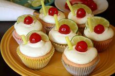Carosello: Cherry Limeade Cupcake Recipe