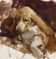 Quang Ho - 6x6 portraits on Arches Oil paper