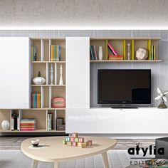 Meuble TV mural Louly ATYLIA Editions