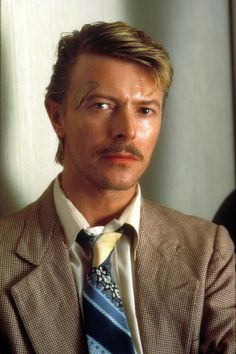 David Bowie in a scene from the film 'Into The Night' (1985)