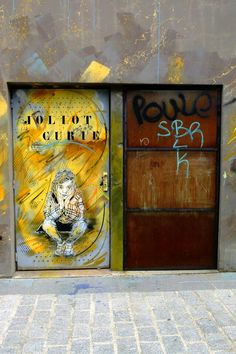 C215 - street art - Vitry-sur-seine - rue saint-germain