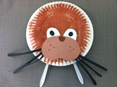 Walrus paper plate project
