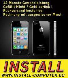 APPLE IPHONE 4s 32GB SCHWARZ - OHNE SIMLOCK - OHNE VERTRAG - SMARTPHONE