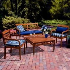 Summer Outdoor Patio: Chic Ideas Outdoor Patio Furniture Set Design ~ Decoration Inspiration