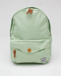 Herschel Supply Co. mint colored backpack! #backpacks #mint #bags #HerschelSupplyCo
