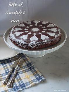 farina asse mattarello: Torta al cioccolato e cocco
