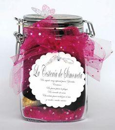 La Cestería de Simoneta. Gift in a jar.