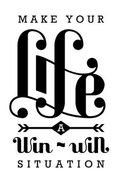 I Love Ligatures: Make Your life a win-win situation. What is a ligature? Read here: http://opentype.info/blog/2012/11/20/whats-a-ligature/