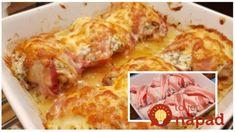 Najchutnejší spôsob, ako pripraviť kuracie stehná v rúre: Pridajte cesnak, kyslú smotanu a zabaľte do slaninky – je to fantázia!