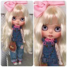 Vlastní Blythe panenka