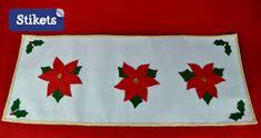 Resultado de imagen para caminos de mesa navideños Flag, Baby Shower, Kids, Art, Google, Dress, Christmas Door, Christmas Decor, Homemade Centerpieces