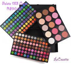 Paleta 183 Cores R$90,00
