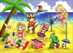 Qué tal esos #carnavales2016 ? Jugaste fuiste a la playa o descansaste? Cuéntanos! . #mario #supermario #peach #mushroomkingdom #foxmccloud #yoshi #nintendo #link #zelda #thelegendofzelda #metroid #samus #navi #summer2016 #verano2016 #sectorn #sectornintendo #videojuegos #videogames  What did you do on this Carnival 2016? Did you play went to the beach or just stayed at home resting? Tell us!  By ChocolatePixel