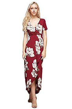 9e27b9d60ec Vanilla Bay Vintage Floral Print Maxi Dress