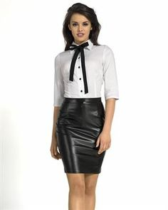 KS Fashion Two-Tone Bow Embellished Shirt Made In Europe
