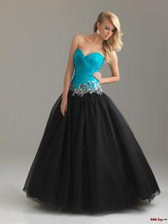 Quinceanera Dresses ball gown- aqua and blue