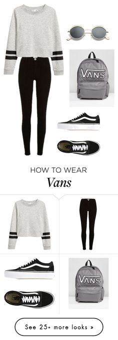 """""""Howe #60"""" by luka1207 on Polyvore featuring River Island and Vans"""