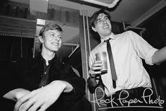 David Bowie & Bryan Ferry of Roxy Music 1979