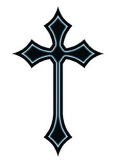 Cross Tattoo Outline Jesus christ tattoos and cross Feminine Cross Tattoo, Tribal Cross Tattoos, Small Cross Tattoos, Simple Cross Tattoo, Celtic Cross Tattoos, Cross Tattoo For Men, Cross Tattoo Designs, Cross Designs, Tattoo Designs Men