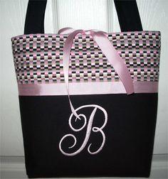 initial tote bags