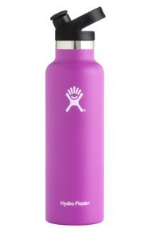 Weekend Getaway Essentials - Hydro Flask Sandard Mouth Bottle with Sport Cap keeps my ice tea cold