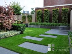 Landscape Gardening Newark On Trent. Modern Garden Design, Contemporary Garden, Landscape Design, Back Gardens, Small Gardens, Outdoor Gardens, Modern Landscaping, Backyard Landscaping, Garden Floor