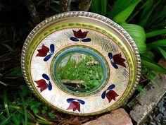 Cottage Chic Decorative Mirror SilverPlatedLiving, $60.00