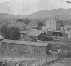 Fourth Street School, San Bernardino, 1872.