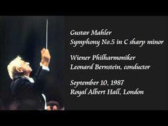 Mahler: Symphony No.5 in C sharp minor - Bernstein / Wiener Philharmoniker - YouTube
