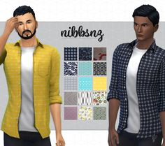 BASEGAME SHIRT RECOLOURS15 recolours of the EA basegame shirt mesh for men. Enjoy.  • Thanks to EA.  • This is NOT a standalone file and you can find the recolours with EA's in the game  • See my TOU for Terms of Use :)  • Any issues message me.  • Thanks...