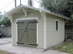 10x15 Bungalow Shed traditional exterior