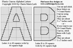 Alphabet Letters Plastic Canvas Patterns for Sale at Craft Designs for You Letter Find, 4 Ply Yarn, Sunflower Pattern, Alphabet Coloring, Letter Patterns, Cross Stitch Alphabet, Plastic Canvas Patterns, Filet Crochet, Letters And Numbers