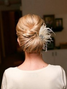 Low Wrap Chignon
