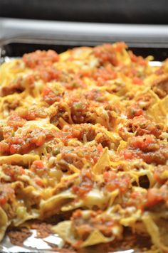 Game Night Nachos