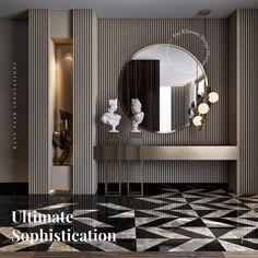 Görüntünün olası içeriği: iç mekan Cute Furniture, Furniture Design, Entrance Hall Decor, Dressing Table Design, Foyer Design, Small House Design, Luxury Interior Design, Luxurious Bedrooms, Living Room Interior