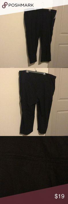 NWT Black linen pants NWT Old Navy black linen pants Old Navy Pants
