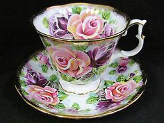ROYAL-ALBERT-SUMMER-BOUNTY-AMETHYST-ROSE-TEA-CUP-AND-SAUCER