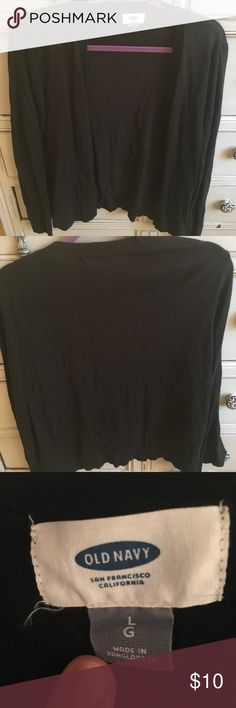 Black Old Navy cardigan Black Old Navy cardigan Old Navy Sweaters Cardigans