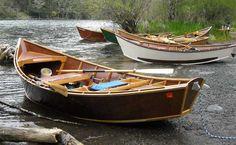 Beautiful Wood Drift Boats - Lets Go Fly Fishing! -CW-