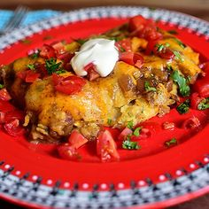 Chicken Enchiladas/Pioneer Woman/Ree Drummond http://www.foodnetwork.com/recipes/ree-drummond/chicken-enchiladas.html